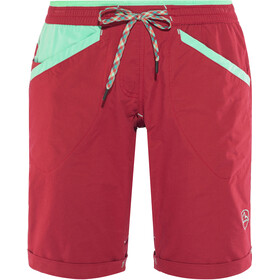 La Sportiva W's Nirvana Shorts Berry/Mint